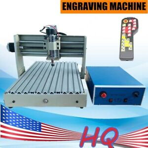 4 Axis Cnc 3040 Usb Router Engraver Drilling Milling Cutter Machine 400w R c