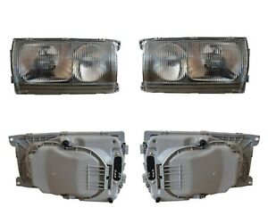 Headlight For Mercedes W123 Left And Right 1238205159 1238205259