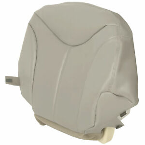 For 1999 2000 2001 2002 Gmc Yukon Driver Bottom Replacement Seat Cover Light Tan