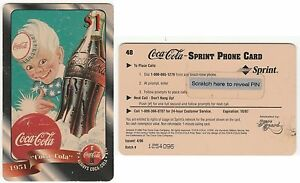 COCA COLA - PHONE CARD - UNUSED FOR COLLECTION -  Expire 1997 -