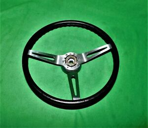 68 69 70 71 72 73 Corvette Camaro Chevelle Steering Wheel Gm 3 Spoke Black