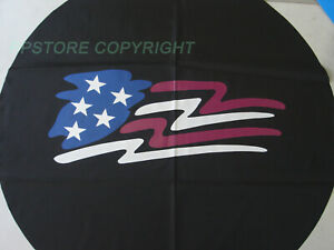 Spare Tire Cover American Flag For Jeep Wrangler 18 Inch Wheel 33 35 New