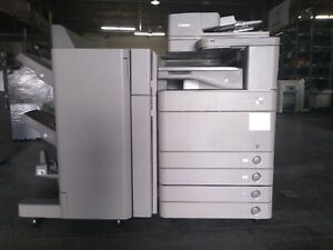 Canon Imagerunner Advance C5250 Color Mfp Copy print scan W booklet Finisher