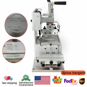Single color Manual Pad Printing Machine Logo Pad Printing Machine Pad Printer