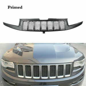 Front Bumper Cneter Upper Grille Cover Fit For Jeep Grand Cherokee 2014 2016