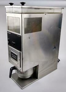 Bunn G9 Series Dual twin Hopper Commercial Coffee Grinder Model G9 2t Working