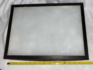 Table Top Display Case Box Glass Lid Multi Purpose