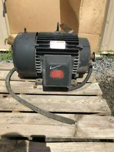 Reliance Electric 7542515 001 15hp Electric Motor 1175rpm 230 460v 3ph Tefc