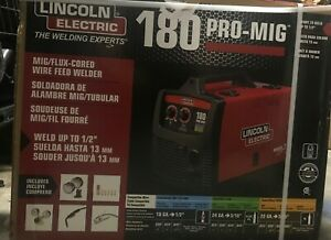 Lincoln Power Mig 180c Mig Welder Package K2473 2 208 230v brand New In Box