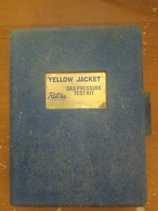 Yellow Jacket Complete Gas Pressure Kit