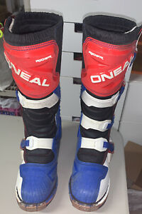 ONEAL Rider Boots Motocross Racing Dirt Bike Riding ATV Quad Mens Size 9