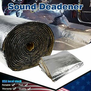 Automotive Truck Insulation Thermal Heat Sound Deadener 20 Sq ft Roll Anti noice