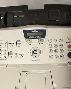 Brother Intellifax 2820 Laser Fax And Copier Missing Phone 100 Drum Remaining