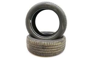 Set Of 2 Used Tires Michelin Latitude 18 Inches 235 50 18 235 50r18 8 32