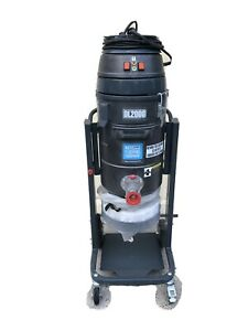 National Flooring Equipment 120v Dust Collector Dl2000 Used