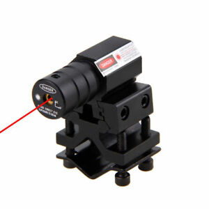 Red Dot Laser Sight Scope for Gun Airsoft with 20mm Weaver Picatinny Mount Base $10.99