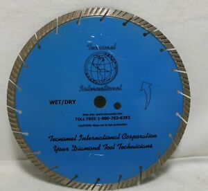 12 In Wet Dry Saw Masonry Diamond Blade For Concrete Cutting Cement Stone Tools