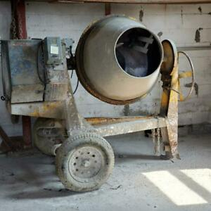 Used Stone 95cm And Concrete Mixer 3 Phase Electric