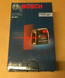 Bosch 30 Ft Self leveling Cross line Laser gll 30 S