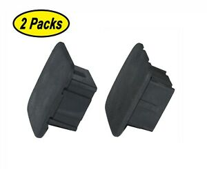 Trailer Hitch Cover Receiver Tube Insert Hitch Plug fits 2 Receivers 2 Packs