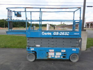 2007 Genie Gs2632 Electric Slab Scissor Lift Gen86149
