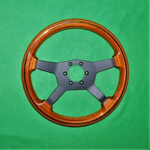 Rare Vintage Wood Raid Steering Wheel Raid Turbo Bmw Mercedes Honda Subaru Vw