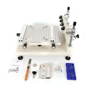 Desktop Solder Paste Printing Machine Pcb Smt Manual Stencil Printer Tool 0 80mm