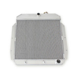 3 row Aluminum Radiator 49 54 Chevy Fleetline Bel Air Styleline Deluxe Mt V8