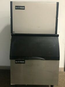 Ice o matic Commercial Ice Maker Model ice0250ha5 With Bin