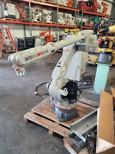 Yaskawa Motoman Hp50 20 Industrial Robot With Nx100 Complete And Very Clean