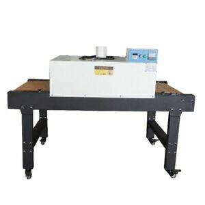 220v 4800w Screen Printing T shirt Conveyor Tunnel Dryer 5 9ft X 25 6 Belt