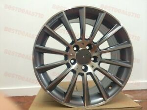 17 Mercedes Benz S Amg Grey Rims Fit E Class E320 E500 E350 E550 C300 4matic