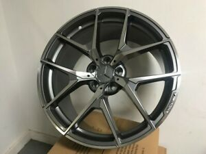 19 Mercedes Benz New Y Spoke Style Gunmetal Machined Set Of Four Staggered