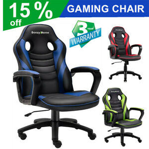 Racing Gaming Chair Office Computer Ergonomic Backrest Swivel E sports Chair