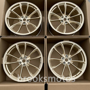 20 New Staggered Gold Style Forged Wheels Rims Fit Porsche 911 Gt3 20x8 5 20x11