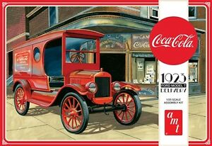 AMT Coca Cola 1923 Ford Model T Delivery 1:25 scale model car kit new 1024