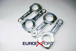 Genuine New R R Aluminum Connecting Rods For Mitsubishi 4g93 With Arp Rod Bolts