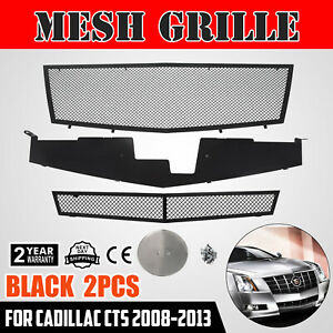 Front Grille For Cadillac Cts 2008 2013 A77768h Customized Combo Insert Exterior