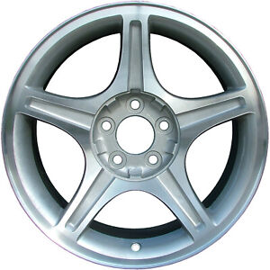 Chrome Plated 5 Spoke 17x8 Factory Wheel 1999 2004 Ford Mustang Gt