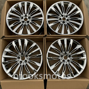20 Chrome Style Wheels Rims Fits For 2016 Bmw 7 Series 750li G11 G12 20x8 5 10