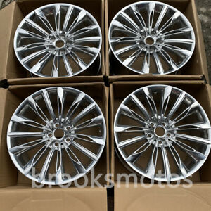 20 Polish Style Wheels Rims Fits For 2016 Bmw 7 Series 750li G11 G12 20x8 5 10