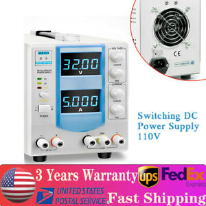 Us Mch 305db Variable Linear Adjustable Lab Dc Bench Power Supply 0 32v 0 5a