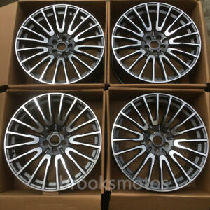 21 Gray Style Wheels Rims Fits For Bmw 2017 6 Series Gt 2016 7 Series 629
