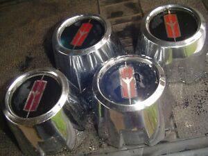 Four Olds Oldsmobile Cutlass Delta Rally Wheel Center Caps Hubcaps Wheel Covers
