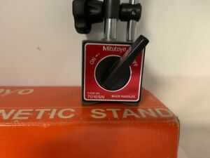Mitutoyo 7010sn Magnetic Stand Base Indicator Holder With Box