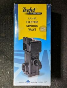 Spraying Systems Teejet Electric Control Valve Aa144a Brand New Open Box