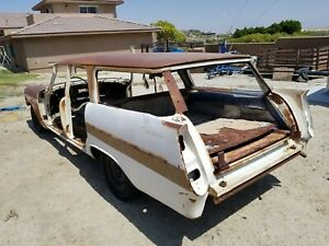 1957 Plymouth Sport Suburban Station Wagon Parts Or Build 1958 1959 Dodge