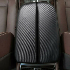Carbon Fiber Look Center Console Armrest Cover For Bmw X5 E70 X6 E71 2008 2013