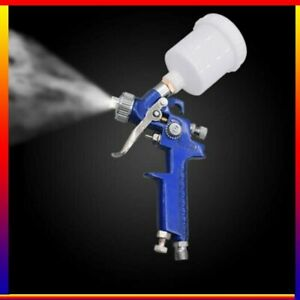 0 8mm 1 0mm Hvlp Spray Paint Gun Mini Jet Air Gravity Feed Smart Repair