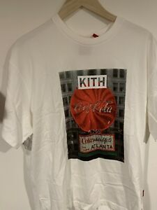 kith x Coca Cola Vintage Atlanta Tee Medium White